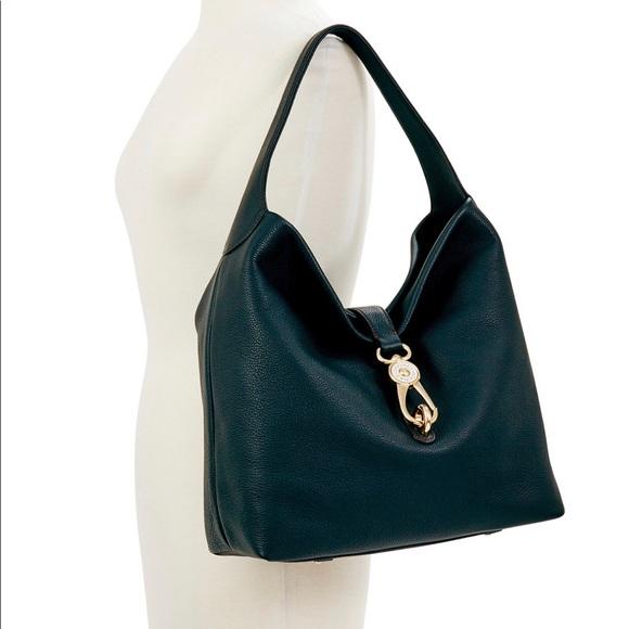 Dooney & Bourke Handbags - Dooney and Bourke Large Logo Lock Shoulder Bag